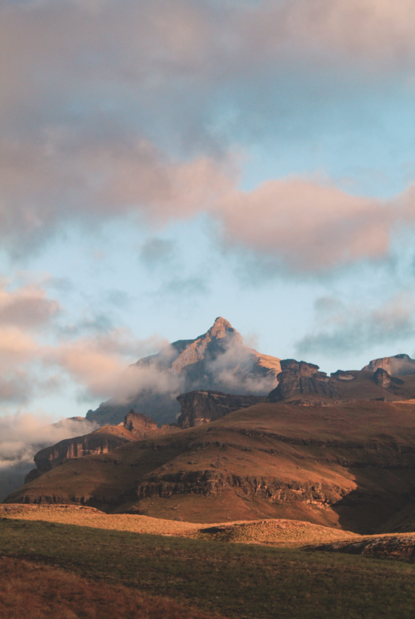 Here's a beautiful picture of a mountain in South Africa, to show DIO media's photography skills.